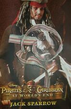 1/6 Hot Toys At World's End Captain Jack Sparrow MMS42 White Scarf