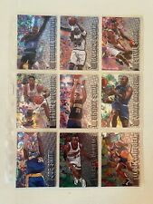 Fleer Metal Basketball cards 95/97 31 cards lot