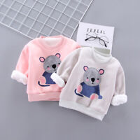 IENENS Toddler Kids Baby Boys Winter Warm Clothes Clothing Infant Casual Tops
