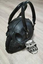 Kreepsville Skull Bag Latex Rubber schwarz Lack black gothic Totenkopf Tasche