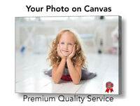 """Your Photo to Canvas - 20"""" x 14""""  or 20"""" x 16""""  Photo Canvas Ready to Hang"""
