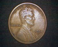 1921-S LINCOLN WHEAT CENT #14062