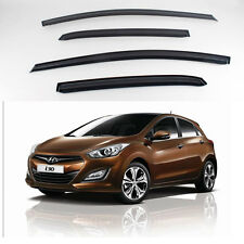 New Smoke Window Vent Visors Rain Guards for Hyundai Elantra GT 2012 - 2013