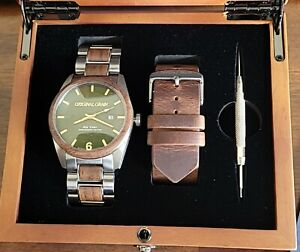 Original Grain Founders 6 year Anniversary Automatic Watch Limited to 150!!!