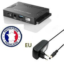 USB 3.0 a IDE y SATA Adaptador para 2.5 y 3.5 HDD SSD Disco Duro para Win 10 Mac
