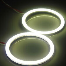60MM COB Car LED Angel Eyes Lamp Width/Fog White Light Ring 12/24V Waterproof SH