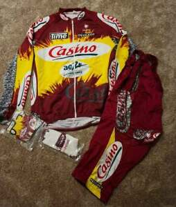 NALINI CASINO AG2R TIME - complete cycling kit SIZE (7)