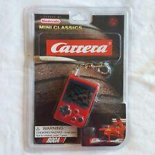 New Nintendo Mini Classics Carrera Video Game Keychain Red Porsche