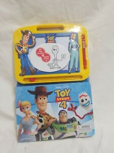 Disney Pixar Toy Story 22 Page Storybook + Magnetic Drawing Kit Ages 3+