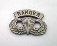 US ARMY AIRBORNE PARATROOPER RANGER WINGS Military Hat Pin 14747 HO