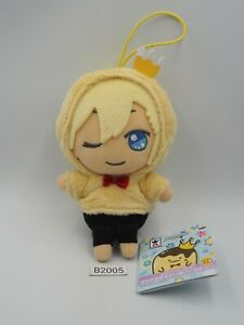 "IDOLiSH 7 B2005 Nagi Rokuya Banpresto 2018 Strap Mascot Plush 5"" Toy Doll"