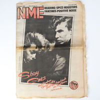 NME magazine 30 August 1980 STRAY CATS cover The Clash