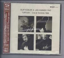 Olaf Kübler & Jan Hammer Trio TURTLES Live at domicile 1968 GIAPPONE SHM CD Enja NEW