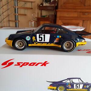 PORSCHE  911 RSR 3.0 N° 51BOB WOLLEK 1/18