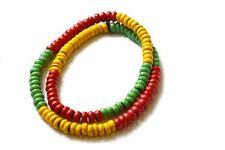 Hals Kette Armband Bunt RASTA Reggae