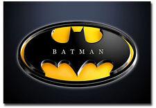 "Batman Logo Fridge Magnet Collectible Size 3.5"" x 2.5"""