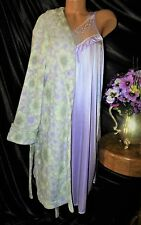 Nightgown,Peignoir Set. XL,NWT Unbranded/Charter Club. Lovely,long&Lavender.