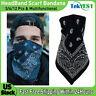 Lot of 12PCS Face Mask Paisley Bandana Scarf 100% Cotton Biker Scarves Head Wrap