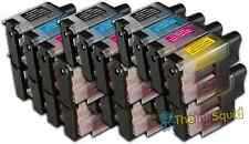 24 LC900 Ink Cartridge Set For Brother Printer MFC3342 MFC3342CN MFC410CN