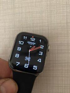 apple watch  4 Hermes Cellular 44mm Cassa Acciaio
