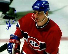 John LeClair autographed signed NHL Montreal Canadiens 8x10 photo