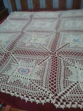 Hand  Crochet Throw/Blanket