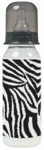 ROCK STAR BABY Zebra Trinkflasche 250 ml