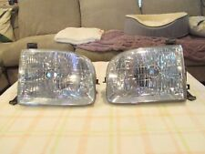 2000-2004 TOYOTA TUNDRA  DOUBLE CAB LEFT & RIGHT SIDE HALOGEN HEADLIGHT OEM