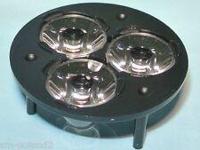 FCT3-N2-XR79-HRLC Tri-Lens Fraen LED Lighting Lenses for CREE XL XR-E [QTY=2pcs]