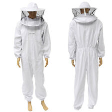 2Xl Beekeeper Protect Bee Jacket keeping Suit Safty Veil Hat Body Jumpsuit Set