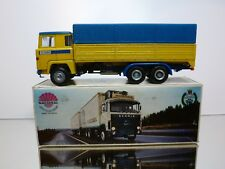 NACORAL 203 SCANIA LBS 140 SUPER - YELLOW BLUE 1:50 - GOOD CONDITION IN BOX