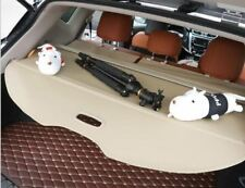 Beige Rear Trunk Shade Cargo Cover for 2015-2017 Nissan Murano Cargo Nets