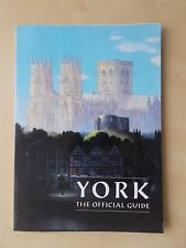 YORK 1987 OFFICIAL TOURIST GUIDE