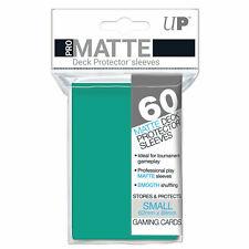 Ultra Pro Pro-Matte Deck Protector Sleeves Small 60ct Aqua