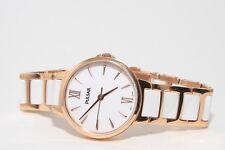 Pulsar (Seiko) Ladies Rose Gold/ Ceramic  watch Lovely £120 rrp