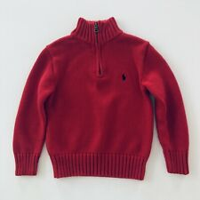 Polo Ralph Lauren Boys 5 Red Sweater Pullover