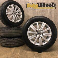 15 Genuine VW Golf wellington alloy & Falken tyres caddy mk5 mk6 mk7