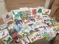 Lot of 5 Eric Carle Picture/Board Books for Children's Kid Toddler *Random Mix*