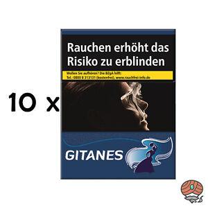 Gitanes ohne Filter Zigaretten Stange 10x20 Stück