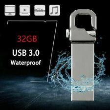 Metal USB 3.0 Flash Drives Memory Stick Pen U Disk Key Thumb For Laptop PC 32GB