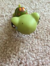 Littlest Pet Shop LPS Turtle #8 Green Body With Brown Eyes Hasbro