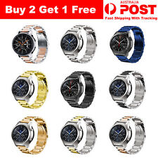 Samsung Smartwatch Galaxy Watch Replacement Band Stainless Steel Strap 22mm Wide