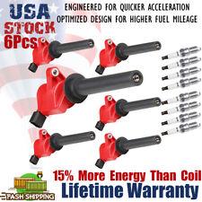 8 Spark Plugs+ 6 Ignition Coil Packs DG500 for Ford Escape Mazda Mercury 3.0L V6