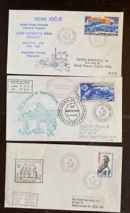 TAAF Antarctic Covers. Lot 123-18