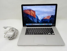 MacBook Pro 15 Intel i7 2.3Ghz Quad Core 8GB 750GB GT 650M 1GB OSX Sierra webcam