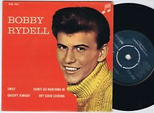 BOBBY RYDELL Sway Danish EP 45PS 1960.