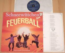 SCHNEEWITTCHEN - Feuerball - Live  (PHILIPS 1979 + OIS / LP m-)