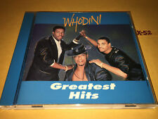 WHODINI greatest HITS cd FREAKS COME OUT AT NIGHT big mouth ONE LOVE i'm a ho