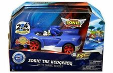 SONIC THE HEDGEHOG RADIO CONTROL CAR + TURBO BOOST BUTTON REMOTE BRAND NEW