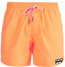 "Billabong Boardshort/Bañador Volley All Day Layback"" 16 Naranja Neón Hombre Neu"